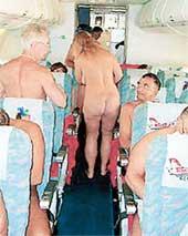 СПЕЦРЕЙС ГАМБУРГ-МАРСЕЛЬ: самые нетерпеливые раздеваются уже в самолете