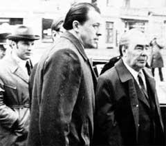 БОГОМОЛОВ, МЕДВЕДЕВ, БРЕЖНЕВ: официальный визит генсека в честь 25-летия образования ГДР