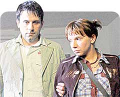 КУПРИН (ИЛЬЯ ШАКУНОВ) И ВИЛКА (ИРИНА РАХМАНОВА): семья детективов