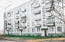 ОФИЦЕРСКИЙ ДОМ: старшая дочь Адамова прожила здесь, в простенькой квартирке несколько лет
