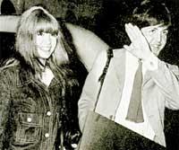 1965 ГОД: еще ничего не предвещало разрыва между Полом и Джейн Эшер