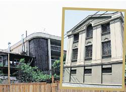 ТРЕХЭТАЖНЫЙ ОСОБНЯК (ВИД СПЕРЕДИ И СЗАДИ): возведен в центре Тбилиси по собственному проекту Кикабидзе