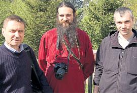ТРОЕ СМЕЛЫХ: Георгий Карпенко, отец Дмитрий, Андрей Деев