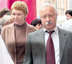 ЧЕТА ЯКУБОВИЧЕЙ: Леонид Аркадьевич не часто выводит в свет жену Марину