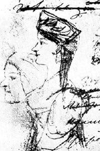 Рисунки Арины Родионовны, сделанные рукою самого ПУШКИНА