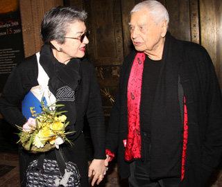 Юрий ЛЮБИМОВ с женой