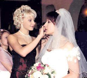 Подружкой невесты была нынешняя любовь Романа - Оксана ДОМНИНА