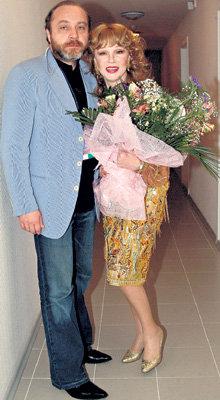 ГУРЧЕНКО с последним мужем Сергеем СЕНИНЫМ