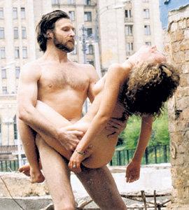 Брутальный мужчина в сексе