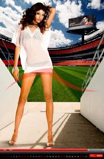Мария (девушка Билялетдинова). Фото: rusfootball.info