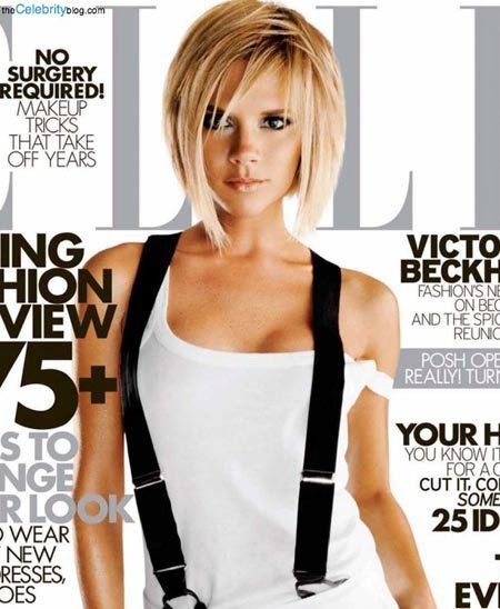 Сейчас на съемках для обложек журналов Виктория чувствует себя гораздо увереннее.