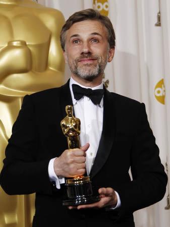 Кристофер Вальц получил Оскара за лучшую мужскую роль второго плана в фильме Квентина Тарантино Бесславные ублюдки. Фото АР