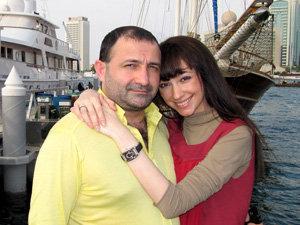 Согдиана с мужем Баширом Куштовым