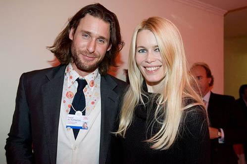 Дэвид Ротшильд и Клаудиа Шиффер. Фото: flickr.com