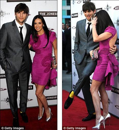 Катчеру премьера показалась скучной, и, чтобы оживить ее, он нацепил ярко-желтые носки. Фото: Daily Mail