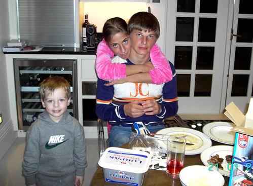 Андрей АРШАВИН с семьёй