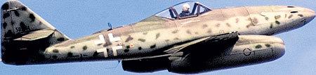 Немецкие конструкторы создали первый в мире реактивный самолёт «Мессершмитт-262», но военные не смогли оценить его преимущества