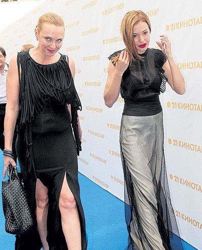 Татьяна ЛЮТАЕВА с дочкой Агнией ДИСКОВСКИТЕ выглядели как сестрички