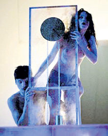 Александра УРСУЛЯК с Сергеем ЛАЗАРЕВЫМ в спектакле «Ромео и Джульетта»