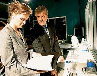 Фанаты сериала давно поженили Рогозину (КОПОСОВА) и Круглова (ТАШЛЫКОВ)
