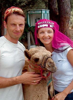 С нынешней женой Еленой Максим объездил полмира (Турция, 2007 г.)