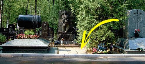 Иосиф КОБЗОН приобрёл место рядом с матерью (могила слева) и мужем сестры