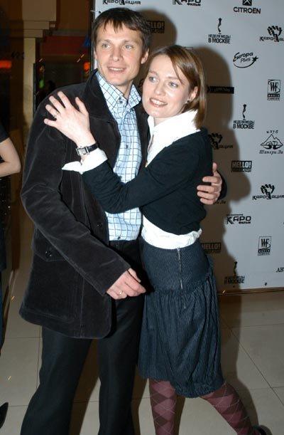 С женой Викторией ТОЛСТОГАНОВОЙ (фото Ларисы КУДРЯВЦЕВОЙ)