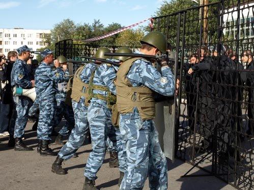 Тюремные решетки не остановили спецназ