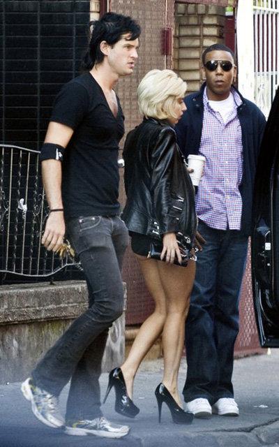 Lady GaGa и её возлюбленный