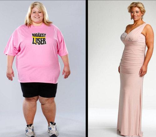 Эшли Джонстон (27 лет). Начальный вес: 169 кг Похудела до 86 кг Потеряла: 83 кг