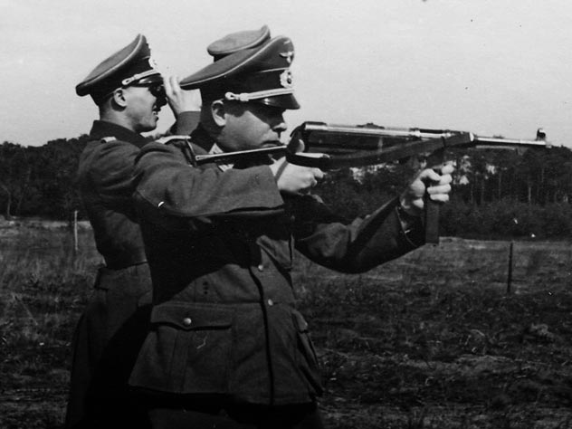 Пистолет-пулемёт MP 38 на испытаниях. Фото: smallarms.ru
