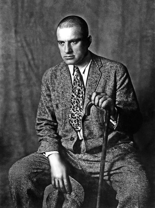 Владимир Маяковский, 1920 г. Фото: ru.wikipedia.org