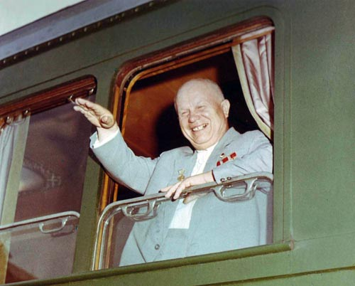Первый секретарь ЦК КПСС, председатель Совета Министров СССР Никита Хрущёв в 1962 году. Источник: wikipedia.org