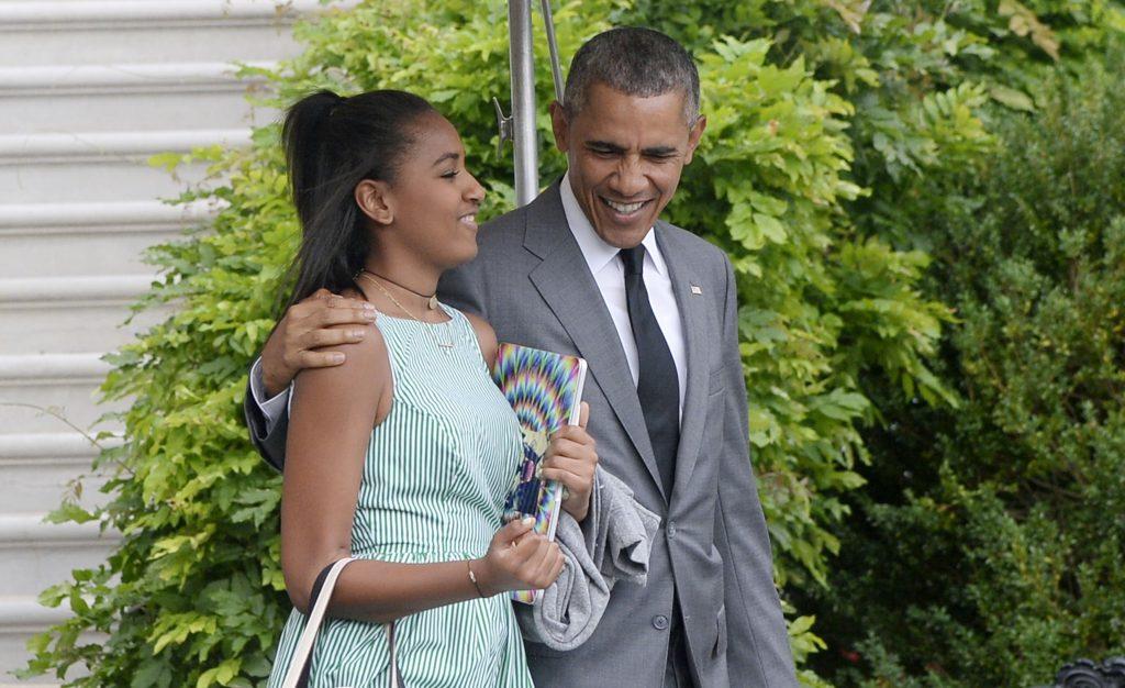 «Русское имя» меньшей дочери Обамы вызвало бурю вглобальной паутине