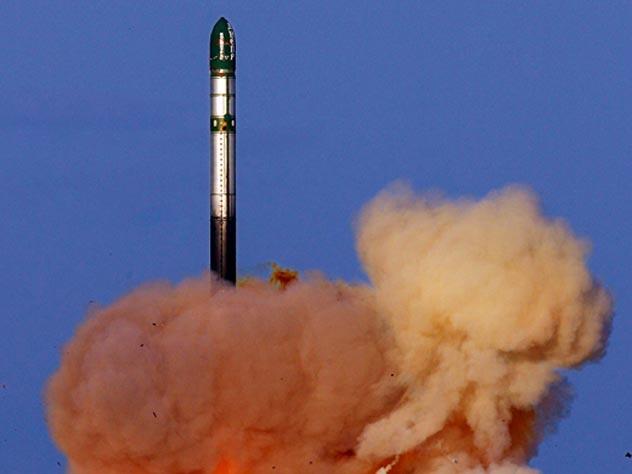 Запуск межконтинентальной баллистической ракеты. mil.ru