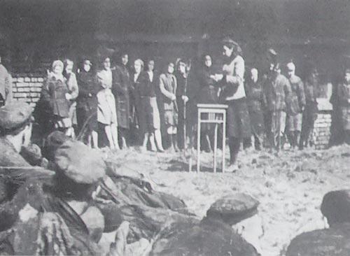 «Час» политинформации в 1942-м году. wikimedia.org