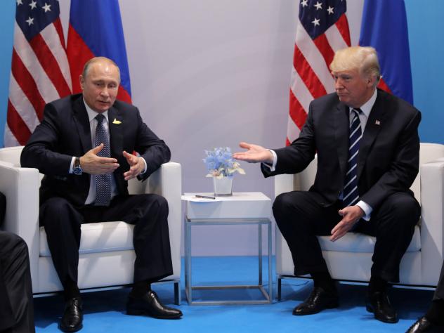 Трамп рассказал одавлении наПутина при встрече наG20