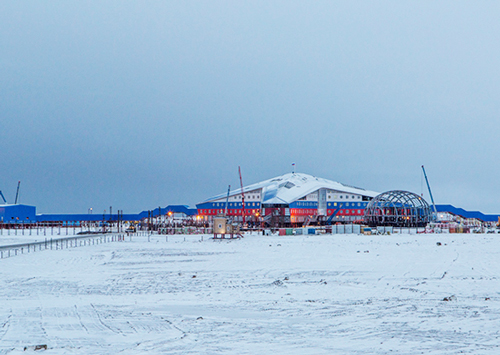 Административно-жилищный комплекс Минобороны «Арктический трилистник». Фото: mil.ru