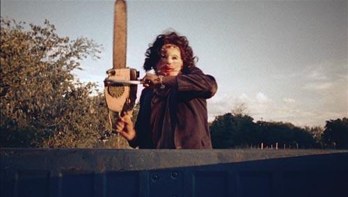 Кадр из фильма «Техасская резня бензопилой», 1974 г.
