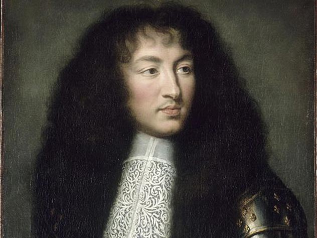 Шарль Лебрен. Портрет Людовика XIV