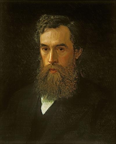 Портрет Павла Третьякова кисти И.Н. Крамского