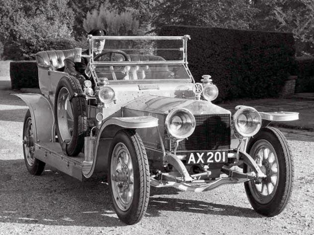 The Silver Ghost («Серебристый призрак») 1907 года от Rolls-Royce Ltd – абсолютно лучшая машина своего времени