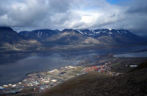 Город Лонгйир, Норвегия. wikimedia