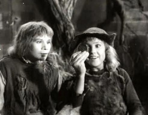 Сказка «Звездный мальчик», 1957 год. Надежде Румянцевой было 27 лет, когда она сыграла эту роль Кадр из фильма