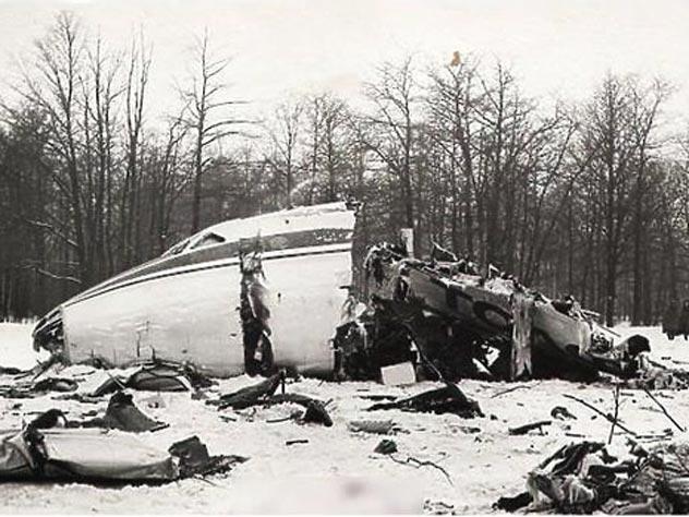 Рейс Москва – Одесса, катастрофа под Внуково, 1979 год. Автор неизвестен
