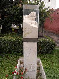 Могила Н.С. Аллилуевой на Новодевичьем кладбище