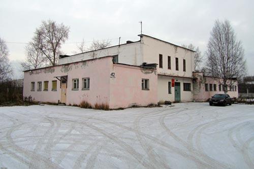 Здание бывшего медвытрезвителя в Северодвинске