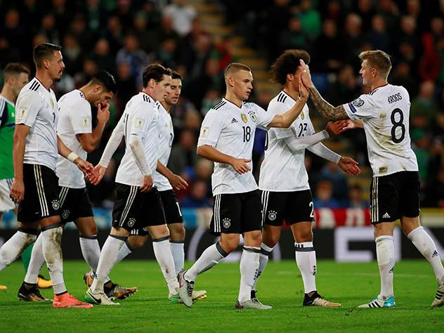 Сборные Германии и Британии  преждевременно  квалифицировались вфиналЧМ