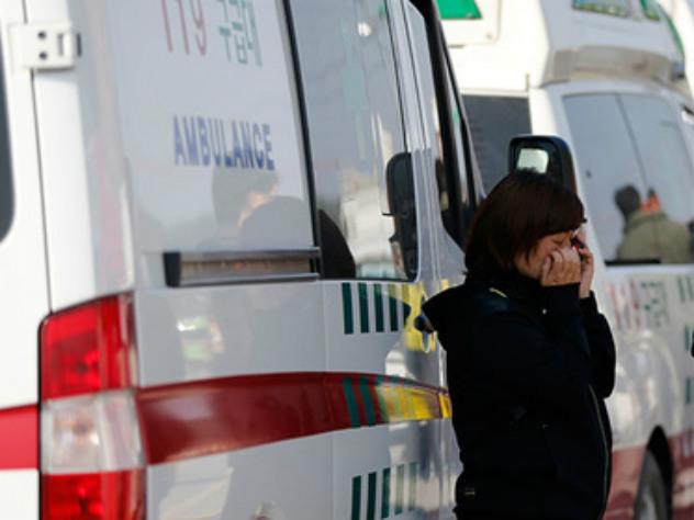 Депрессивная кореянка прыгнула с13-го этажа инасмерть задавила мужчину
