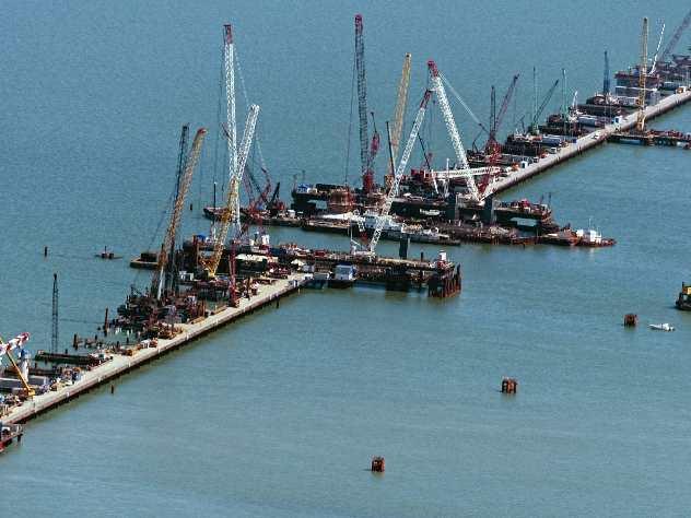 ВУкраинском государстве выдумали, как остановить строительство Крымского моста